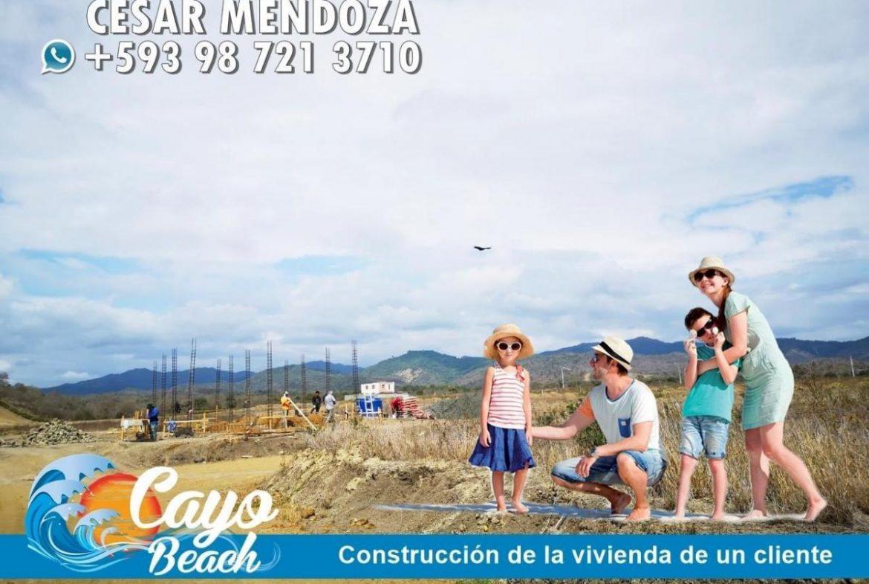 terrenos en lotizacion cayo beach puerto cayo manabi sur manta puerto lopez los frailes