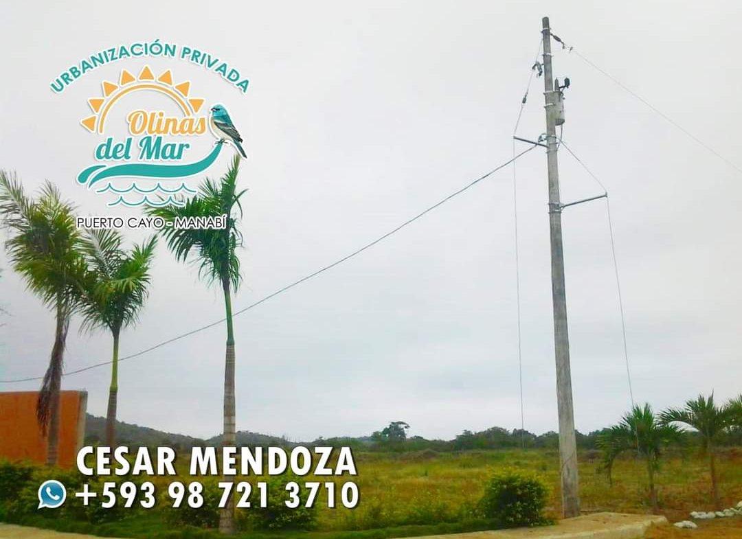 vendo terrenos en urbanizacion olinas del mar en la playa de puerto cayo jipijapa manabi puerto lopez los frailes